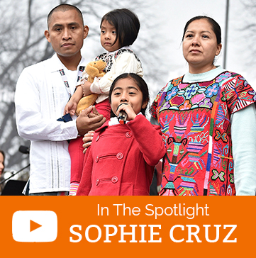In the Spotlight: Sophie Cruz